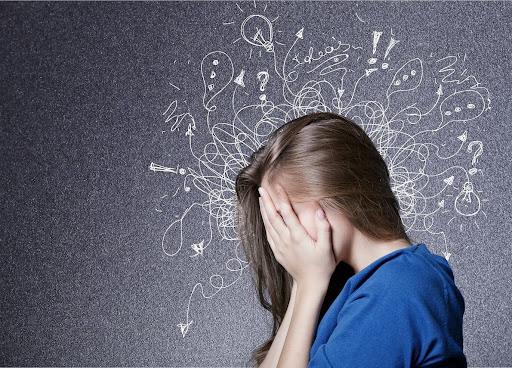 Hypnose anxiété - personne anxieuse